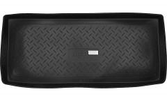 Коврик в багажник для Suzuki Grand Vitara '06- (3 двери), резино/пластиковый (Norplast)