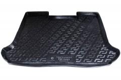 Коврик в багажник для Fiat Doblo Panorama '01-09, резино/пластиковый (Lada Locker)