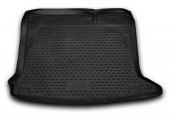Коврик в багажник для Renault Sandero / Stepway '13-, полиуретановый (Novline / Element) черный