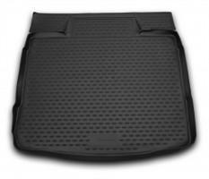 Коврик в багажник для Opel Insignia '09- седан, полиуретановый (Novline / Element) черный