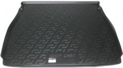 L.Locker Коврик в багажник для BMW X5 E53 '00-07, резино/пластиковый (Lada Locker)