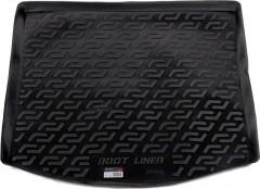 Коврик в багажник для Volkswagen Touran '03-15, резино/пластиковый (Lada Locker)