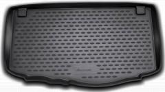 Коврик в багажник для Kia Picanto '11-17, полиуретановый (Novline / Element) черный