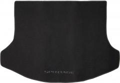 Коврик в багажник для Kia Sportage '10-15, текстильный черный