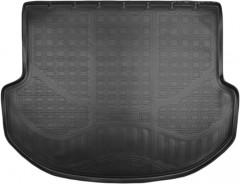 Коврик в багажник для Hyundai Santa Fe '13-17 DM (5 мест), резино/пластиковый (Norplast)