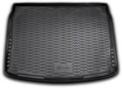 Коврик в багажник для Nissan Qashqai '14-17, полиуретановый (Novline / Element) черный