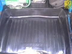 Коврик в багажник для Lada (Ваз) 2106, резино/пластиковый (Lada Locker)