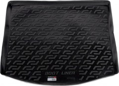 Коврик в багажник для Volkswagen Touran '03-15, резиновый (Lada Locker)