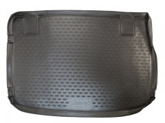 Коврик в багажник для Kia Venga '10- (верхний), полиуретановый (Novline / Element) черный