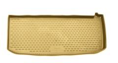 Коврик в багажник для Honda Pilot '08- (короткий), полиуретановый (Novline / Element) бежевый