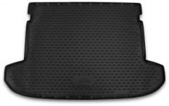 Коврик в багажник для Hyundai Tucson '15-, полиуретановый черный (Novline / Element)