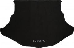 Коврик в багажник для Toyota Venza '10-16, текстильный черный