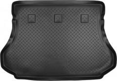 Коврик в багажник для Hyundai Santa Fe '01-06 SM, резино/пластиковый (Norplast)