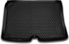 Коврик в багажник для Fiat Fiorino Qubo '08-, полиуретановый (Novline / Element)