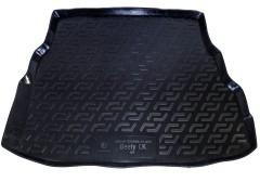 Коврик в багажник для Geely CK '06-, резиновый (Lada Locker)