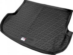 Коврик в багажник для Hyundai Santa Fe '10-12 CM (5 мест), резино/пластиковый (Lada Locker)