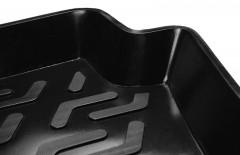 Фото 3 - Коврик в багажник для Hyundai Santa Fe '10-12 CM (5 мест), резино/пластиковый (Lada Locker)