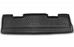 Коврик в багажник для Cadillac Escalade III '07-13, полиуретановый, короткий (Novline / Element) черный