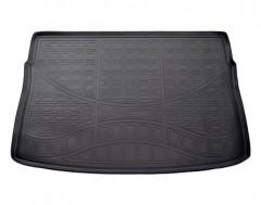 Коврик в багажник для Volkswagen Golf VII '12- хетчбек, полиуретановый (NorPlast) черный