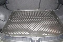 Коврик в багажник для Mitsubishi ASX '10-, полиуретановый (Novline / Element) черный