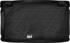 Фото 1 - Коврик в багажник для Hyundai Getz '02-11, резино/пластиковый (Lada Locker)