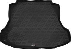 Коврик в багажник для Honda Civic 4D '06-12, резино/пластиковый (Lada Locker)