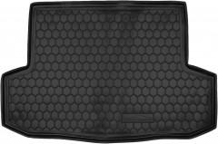 Коврик в багажник для Chevrolet Aveo '06-11, резиновый (AVTO-Gumm)