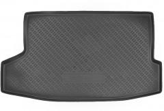 Коврик в багажник для Nissan Juke '15-, верхний, резино/пластиковый (Nor-Plast)