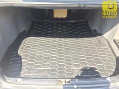 Коврик в багажник для BMW 5 E39 '96-03, седан, резиновый (AVTO-Gumm)