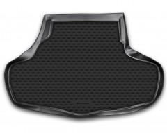 Коврик в багажник для Infiniti G (Q50) Sedan '10-, полиуретановый (Novline / Element) черный