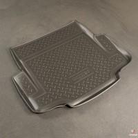 Коврик в багажник для BMW 1 F20 '12-, полиуретановый (NorPlast) черный