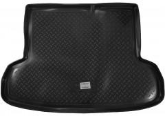Коврик в багажник для Hyundai Accent '06-10 седан, резино/пластиковый (Norplast)