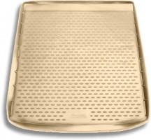 Коврик в багажник для BMW X6 E71 '08-14, полиуретановый (Novline / Element) бежевый