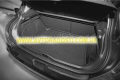 Фото 2 - Коврик в багажник для Kia Cerato '04-09 седан, полиуретановый (Novline) черный