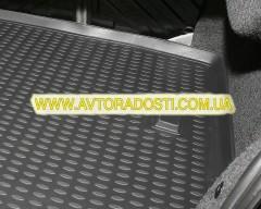 Фото 4 - Коврик в багажник для Kia Cerato '04-09 седан, полиуретановый (Novline) черный