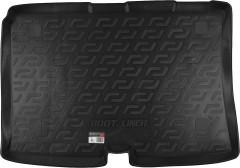 Коврик в багажник для Fiat Fiorino Qubo '08-, резиновый (Lada Locker)