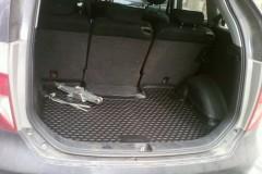 Коврик в багажник для Honda FR-V '04-09, полиуретановый (Novline / Element) черный