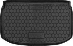 Коврик в багажник для Chevrolet Aveo '11- хетчбэк, резиновый (AVTO-Gumm)