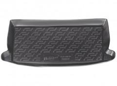 Коврик в багажник для Chevrolet Aveo '08-11 (ЗАЗ Вида) хетчбэк, резиновый (Lada Locker)