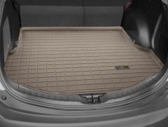 Коврик в багажник для Toyota RAV4 '13-, с докаткой, резиновый (WeatherTech) бежевый