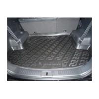 Коврик в багажник для Chevrolet Captiva '06-, длинный, резиновый (Lada Locker)