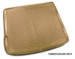 Коврик в багажник для Volkswagen Touareg '10-18 (4-х зонный климат), бежевый (Novline / Element)