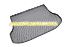 Коврик в багажник для Kia Sorento '03-09 BL, полиуретановый (Novline) черный