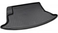 Коврик в багажник для Chevrolet Niva '02- (Lada/Ваз) 2123, полиуретановый (Novline / Element) черный