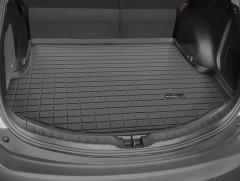 Коврик в багажник для Toyota RAV4 '13-, с докаткой, резиновый (WeatherTech) черный