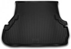 Коврик в багажник для Toyota LC 100 '98-07, полиуретановый (Novline / Element) черный