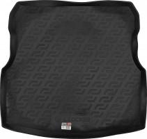 Коврик в багажник для Nissan Almera '13-, резино/пластиковый (Lada Locker)