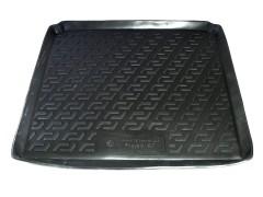 Коврик в багажник для Peugeot 407 '04-10 седан, резино/пластиковый (Lada Locker)