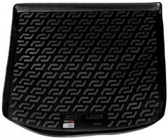 Коврик в багажник для Volkswagen Caddy '04-15, с обшивкой багажника, резино-пластиковый (Lada Locker)
