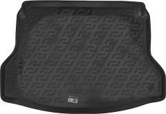 Коврик в багажник для Nissan X-Trail (T32) '14-, резино/пластиковый (L.Locker)